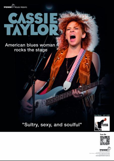 Cassie Taylor - European tour 2014